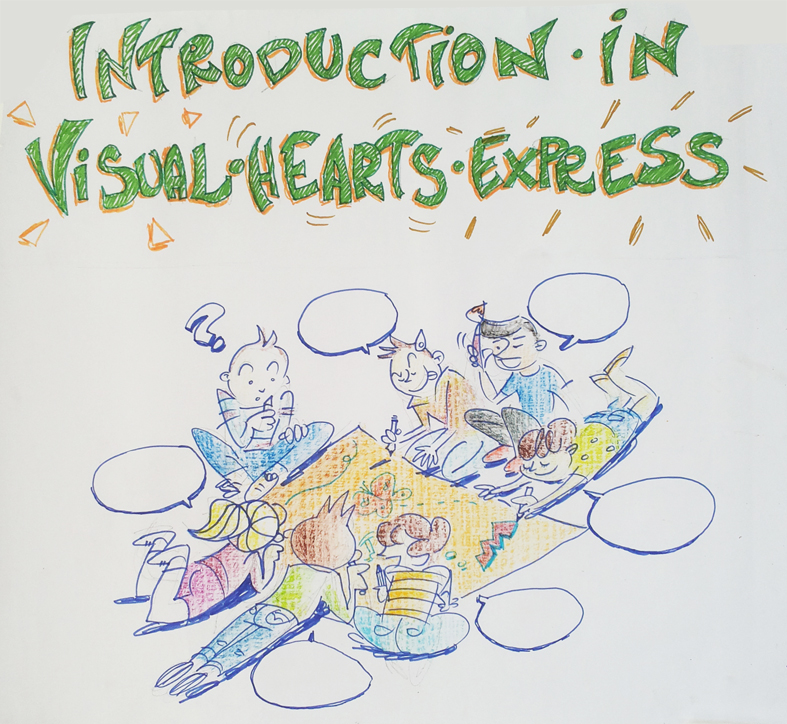 Introduction in Visual heArts express