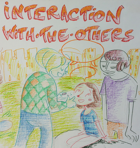 Interaction with others