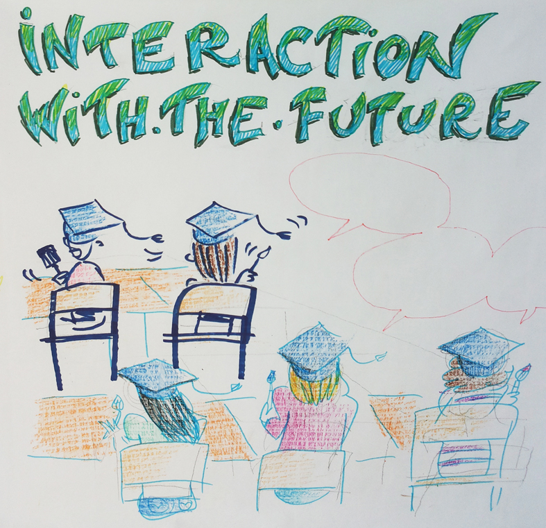 Interaction with the future
