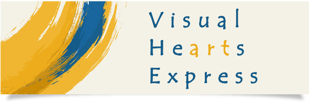 Visual HeArts Express Logo